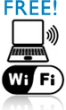 Free Wireless Internet - WiFi